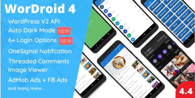 WorDroid v4.4 Full Native WordPress Blog App For Android